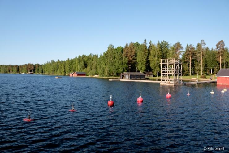 Häyrylänranta on myös suosittu uimapaikka ja musiikkitapahtumien pitopaikka.