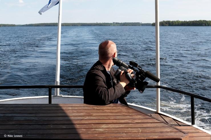 YLE:n kuvaaja Antti Karhunen ehti katsella näkymiä muutenkin kuin kameran linssin läpi.