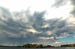Loppupäivän mahtavimmat pilvimuodostelmat.