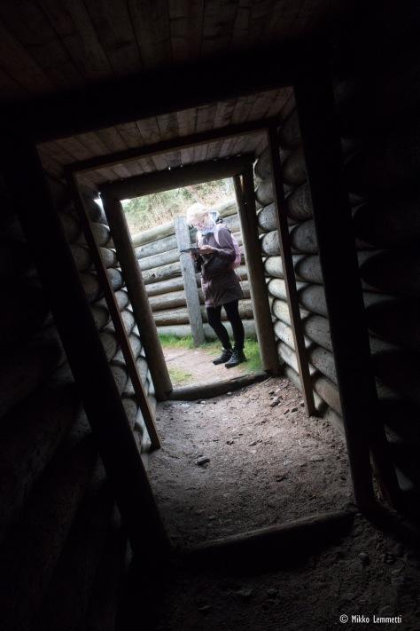 Pimeät bunkkerit kiehtovat erityisesti lapsia, mutta ovat todella kiinnostavia myös omasta mielestäni.