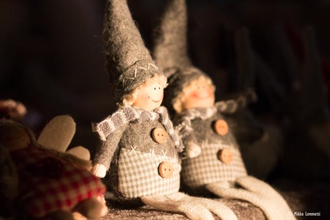 Johan oli joulumarkkinat Juonolan tilalla Konnevedellä!