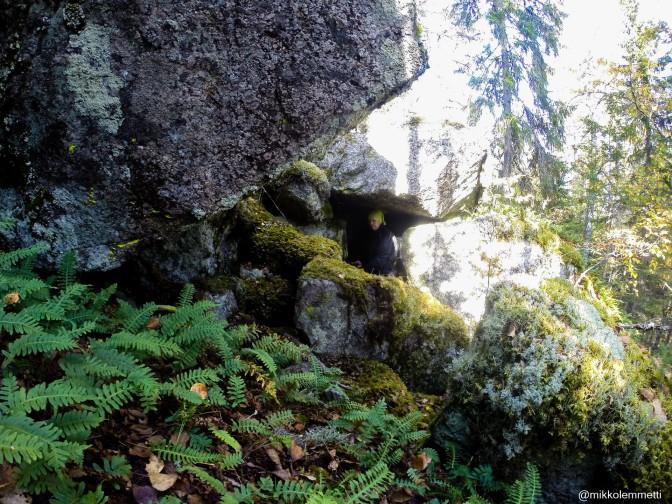 Luonnon oma seikkailupuisto – Tankolammin pesäluolat