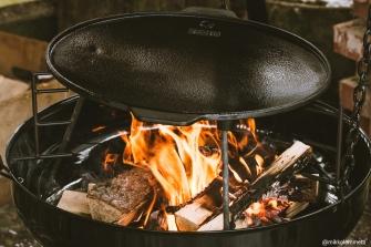 Espegardin valikoimissa on tulipadan lisäksi erilaisia ruoanvalmistusastioita, kuten muurinpohjapannuja.