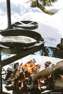 Muurikan Kotakeittiö toimii vuoden ympäri juhlavankin ruoan valmistuksessa.